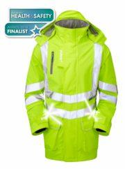 pulsar enhanced LED storm coat yellow