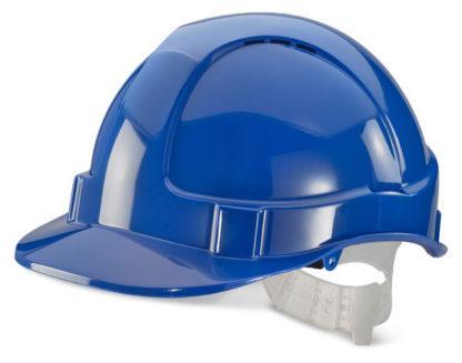 economy blue helmet