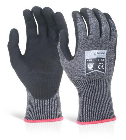 micro foam nitrile cut d gloves