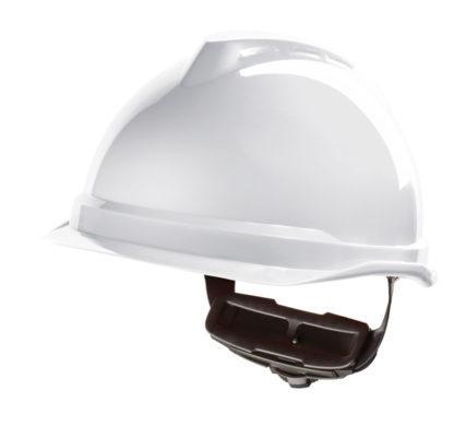 v gard520 peakless helmet white