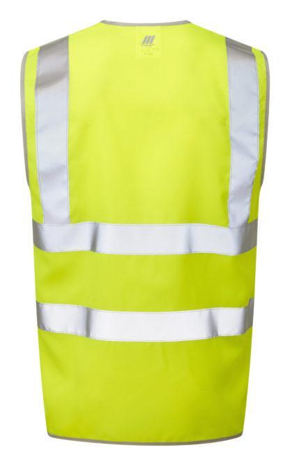 pulsar yellow high vis waistcoat