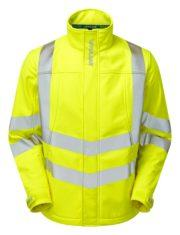 pulsar softshell jacket yellow