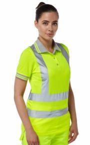 p700 pulsar ladies polo shirt