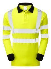 pulsar parc21 yellow polo shirt
