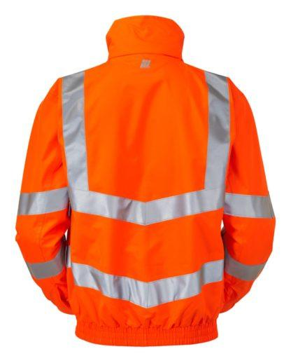 pulsar orange hi vis unlined bomber jacket
