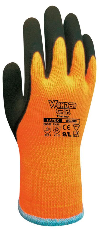 wonder grip thermo latex coated gloves
