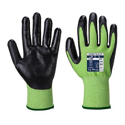 cut 5 nitrile glove